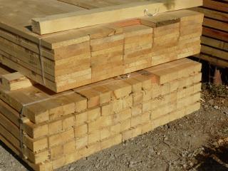 Les différentes sections de bois à la vente