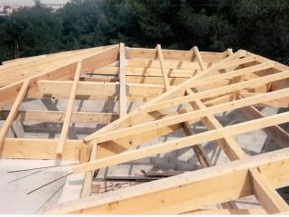 Charpente sur construction neuve :