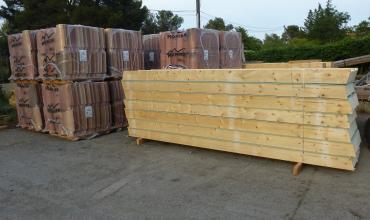 Vente de panneaux isolants, de tuiles et plaques sous tuiles