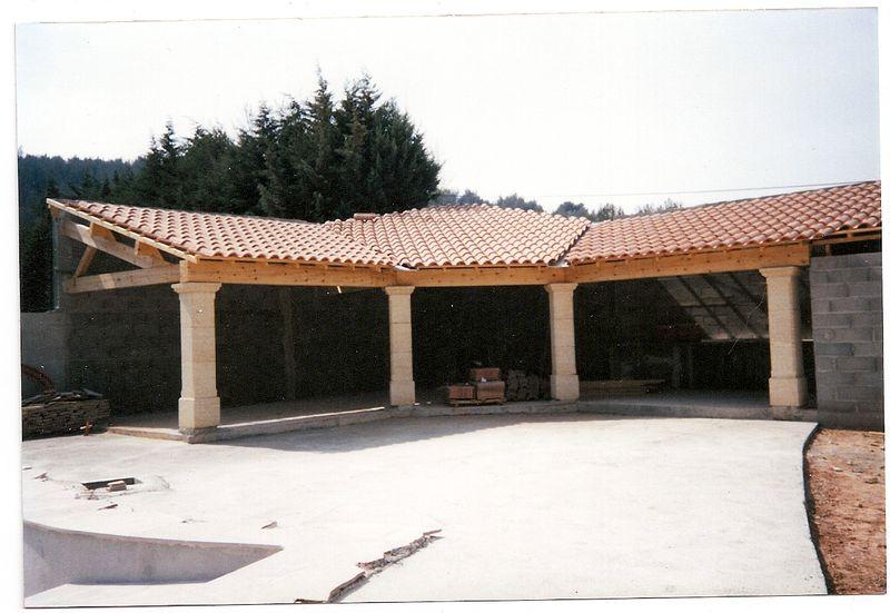 R alisation de votre abri piscine abris en bois aix en for Abri de piscine 33